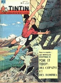 Journal de TINTIN �dition Belge N� 37 du 11 Septembre 1962
