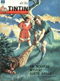 Journal de TINTIN �dition Belge N� 38 du 18 Septembre 1962