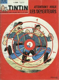 Journal de TINTIN �dition Fran�aise N� 747 du 14 F�vrier 1963