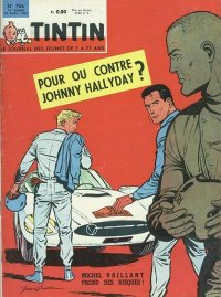 Journal de TINTIN �dition Fran�aise N� 756 du 18 Avril 1963