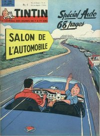 Journal de TINTIN �dition Fran�aise N� 780 du 3 Octobre 1963