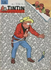 Journal de TINTIN �dition Fran�aise N� 825 du 13 Ao�t 1964