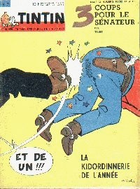 Journal de TINTIN �dition Belge N� 7 du 18 F�vrier 1964