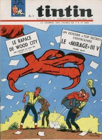 Journal de TINTIN �dition Fran�aise N� 861 du 22 Avril 1965