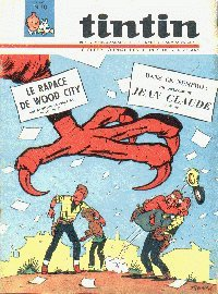Journal de TINTIN �dition Belge N� 10 du 9 Mars 1965