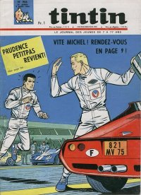Journal de TINTIN �dition Fran�aise N� 906 du 3 Mars 1966