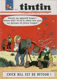 Journal de TINTIN �dition Fran�aise N� 913 du 21 Avril 1966