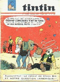 Journal de TINTIN �dition Belge N� 9 du 1 Mars 1966