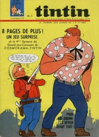 Journal de TINTIN �dition Fran�aise N� 964 du 13 Avril 1967