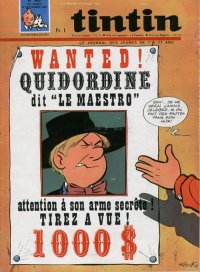 Journal de TINTIN �dition Fran�aise N� 995 du 16 Novembre 1967