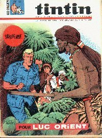 Journal de TINTIN �dition Belge N� 12 du 21 Mars 1967