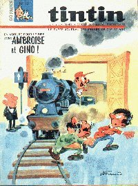 Journal de TINTIN �dition Belge N� 13 du 28 Mars 1967