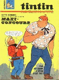 Journal de TINTIN �dition Belge N� 15 du 11 Avril 1967