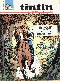 Journal de TINTIN �dition Belge N� 33 du 13 Ao�t 1968