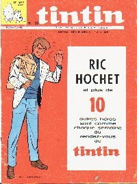 Journal de TINTIN �dition Fran�aise N� 1062 du 6 Mars 1969