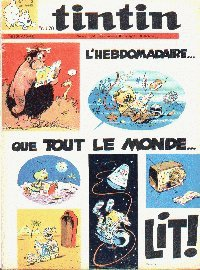 Journal de TINTIN �dition Fran�aise N� 1112 du 19 F�vrier 1970