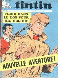 Journal de TINTIN �dition Fran�aise N� 1136 du 6 Ao�t 1970