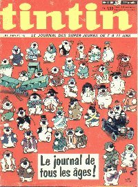 Journal de TINTIN �dition Fran�aise N� 1166 du 4 Mars 1971