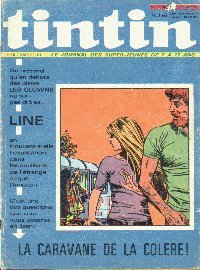 Journal de TINTIN �dition Fran�aise N� 1200 du 28 Octobre 1971