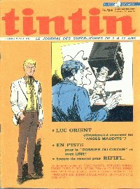 Journal de TINTIN �dition Fran�aise N� 1208 du 23 D�cembre 1971
