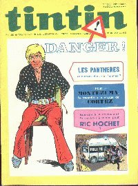 Journal de TINTIN �dition Fran�aise N� 1230 du 25 Mai 1972