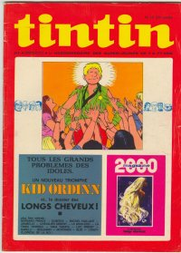 Journal de TINTIN �dition Belge N� 10 du 7 Mars 1972
