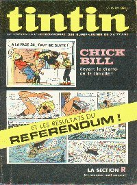 Journal de TINTIN �dition Belge N� 18 du 2 Mai 1972