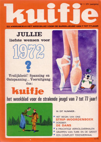 Kuifje weekblad N° 1 du 4 januari 1972
