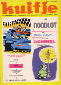 Kuifje weekblad N° 4 du 25 januari 1972