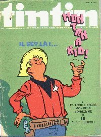 Journal de TINTIN �dition Belge N� 40 du 2 Octobre 1973