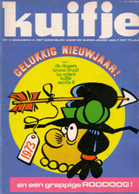 Kuifje weekblad N° 1 du 2 januari 1973