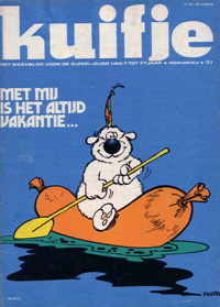 Kuifje weekblad N� 44 du 30 Octobre 1973