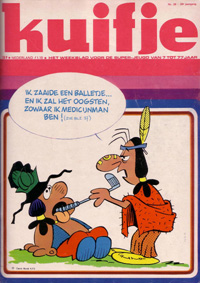 Kuifje weekblad N� 39 du 24 Septembre 1974