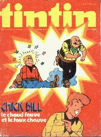 Journal de TINTIN �dition Belge N� 43 du 21 Octobre 1975