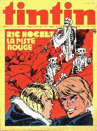 Journal de TINTIN �dition Belge N� 6 du 3 F�vrier 1976