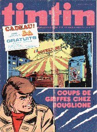 Journal de TINTIN �dition Belge N� 21 du 18 Mai 1976