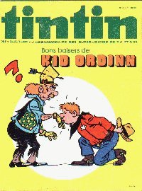 Journal de TINTIN �dition Belge N� 34 du 17 Ao�t 1976