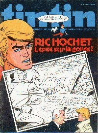 Journal de TINTIN �dition Belge N� 32 du 9 Ao�t 1977