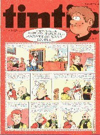 Journal de TINTIN �dition Belge N� 47 du 22 Novembre 1977