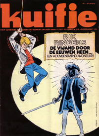 Kuifje weekblad N� 2 du 11 januari 1977