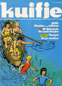 Kuifje weekblad N° 43 du 25 Octobre 1977
