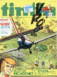 Journal de TINTIN �dition Belge N� 9 du 28 F�vrier 1978