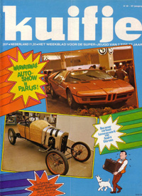 Kuifje weekblad N° 38 du 19 Septembre 1978