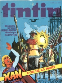 Journal de TINTIN �dition Fran�aise N� 153 du 15 Ao�t 1978