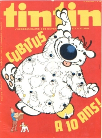 Journal de TINTIN �dition Fran�aise N� 156 du 5 Septembre 1978