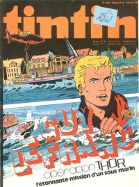 Journal de TINTIN �dition Fran�aise N� 166 du 10 Novembre 1978