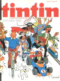 Journal de TINTIN �dition Fran�aise N� 167 du 17 Novembre 1978