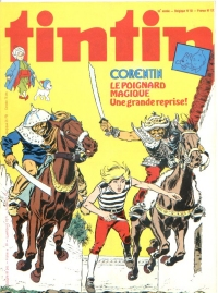Journal de TINTIN �dition Fran�aise N� 170 du 8 D�cembre 1978
