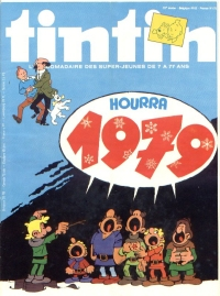 Journal de TINTIN �dition Fran�aise N� 172 du 22 D�cembre 1978