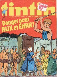 Journal de TINTIN édition Belge N° 17 du 24 Avril 1979